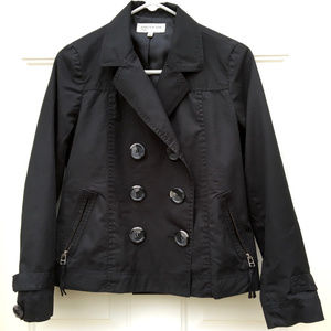 Women's Small Short Peacoat
